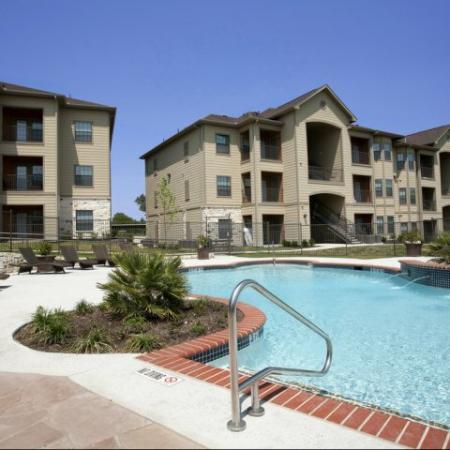 Sparkling Pool | Apartments for rent in San Antonio , TX | Carmel Canyon at Alamo Ranch