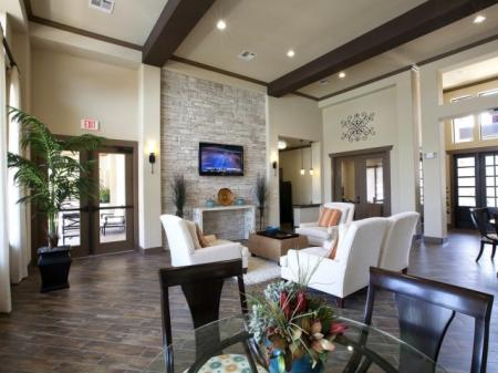 Spacious Community Club House | San AntonioTX Apartments For Rent | Carmel Canyon at Alamo Ranch
