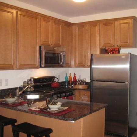 Modern Kitchen | Edgewater NJ Apartment For Rent | Mariner's Landing Apartments