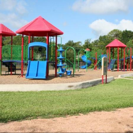 Community Children's Playground | Apartment Homes in Houston, TX | Memorial City