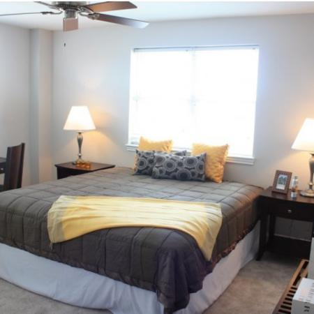 Elegant Master Bedroom | Apartments Quincy, MA | Metro Marina Bay