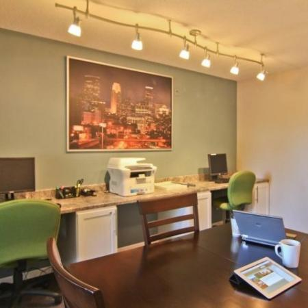 Resident Business Center | St Louis Park MN Apartment For Rent | Cityscape