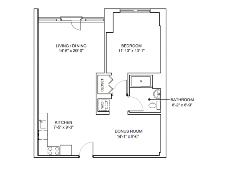 One Bedroom Mezzo Classic