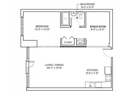 One Bedroom Mezzo Modern