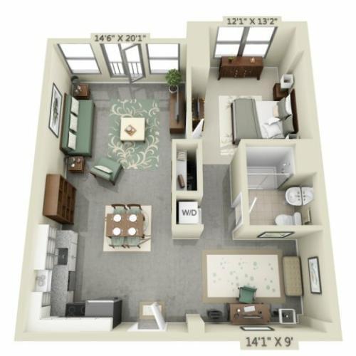 Boston Studio Apartments: Studio/ 1 Bath Apartment In Charlestown MA