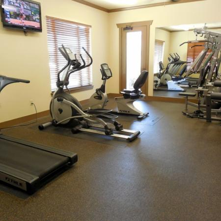 Cutting Edge Fitness Center | Apartments Homes for rent in San Antonio , TX | Carmel Canyon at Alamo Ranch