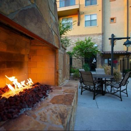 Gathering Area at our Apartments Rockwall TX