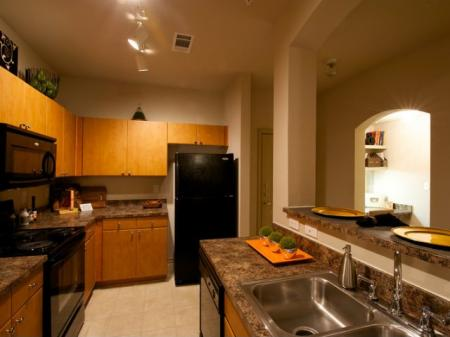 Spacious Kitchens at our Rockwall TX Apartments