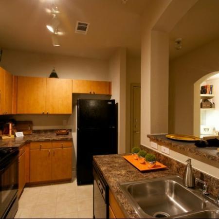 Spacious Kitchens at our Rockwall TX Apartments
