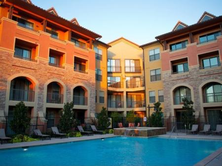 Resort-Style Pool at Rockwall Apartments