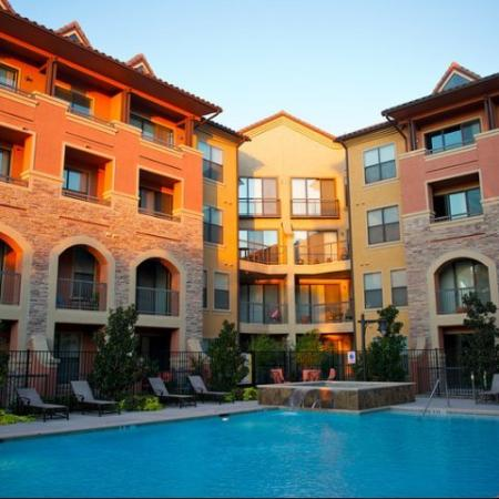Resort-Style Pool at Rockwall Apartments