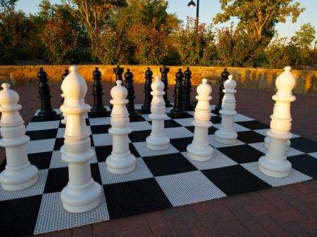 Human Chess at Rockwall Commons