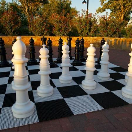 Human Chess at Rockwall Commons