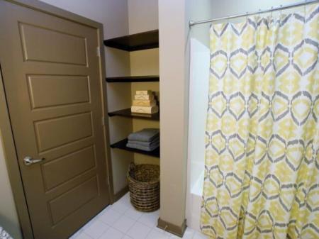 Elegant Master Bathroom | Apartments Nashville, TN | 12 South Flats