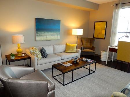Luxurious Living Area | Apartment in Nashville, TN | 12 South Flats
