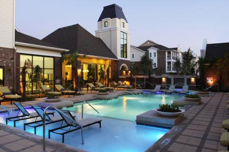 Resort-Style Pool | Park Central at Flower Mound | Apartments in Texas