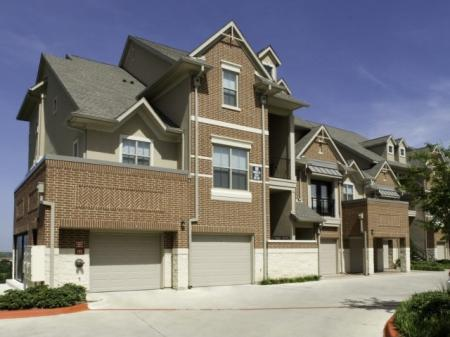 Exterior of our Fort Worth Downtown Townhomes