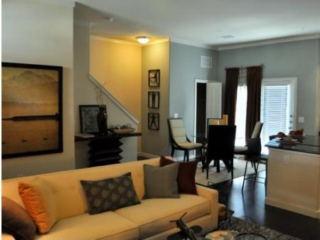 Interior of our Townhomes: Best Apartments in Fort Worth