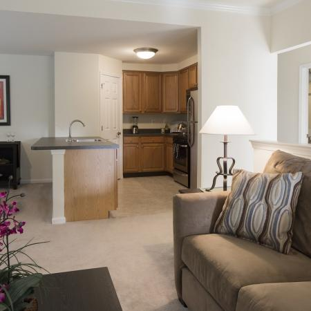 Spacious Living Room | Apartments in Marlton, NJ | Brook View Apartment Homes