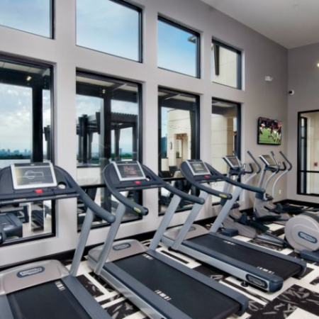 State-of-the-Art Fitness Center with Highly-Specialized Technogym Cardio Machines