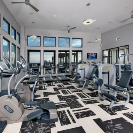 State-of-the-Art Fitness Center with Highly-Specialized Technogym Cardio Machines and Individual Strength Training Machines
