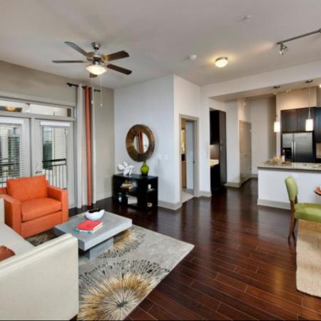 Elegant Living Area | Apartments Atlanta, GA | Elle of Buckhead