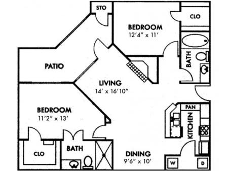 Two Bedroom B2