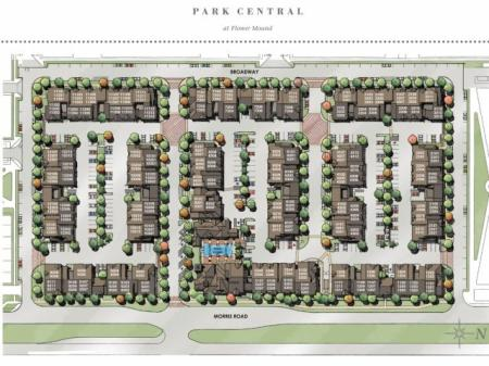 Site Map | Park Central at Flower Mound | Apartments for Rent in TX