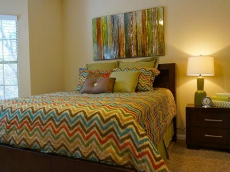 Elegant Master Bedroom | Apartments Austin, TX | Canyon Springs at Bull Creek