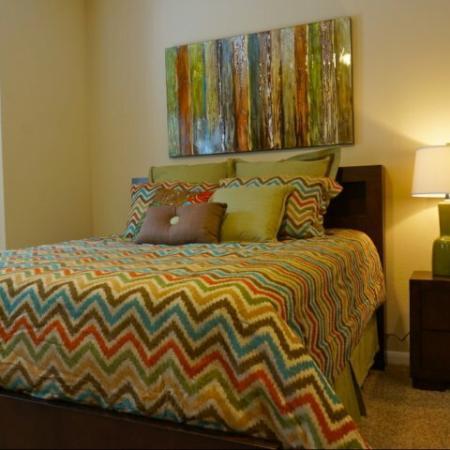 Elegant Master Bedroom | Apartments Austin, TX | Canyon Springs at Bull Creek