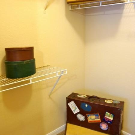 Spacious Closet | Apartments in Austin, TX | Canyon Springs at Bull Creek