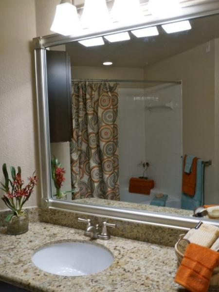 Spacious Master Bathroom   Apartments Homes for rent in Austin, TX   Canyon Springs at Bull Creek
