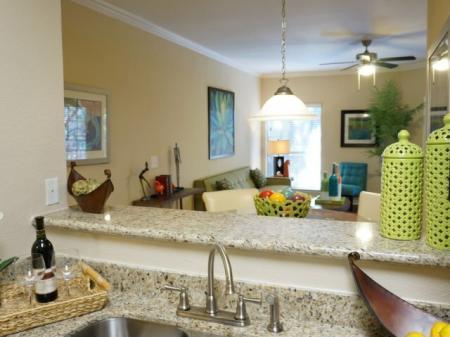 Modern Kitchen   Austin TX Apartment For Rent   Canyon Springs at Bull Creek