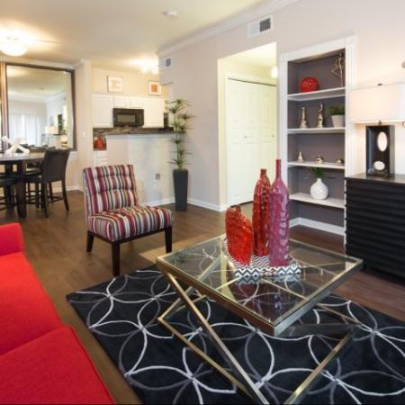 Spacious Living Room | Apartments in Dallas, TX | Metropolitan at Cityplace