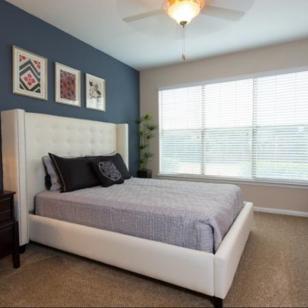 Spacious Master Bedroom | Apartments Homes for rent in Dallas, TX | Metropolitan at Cityplace