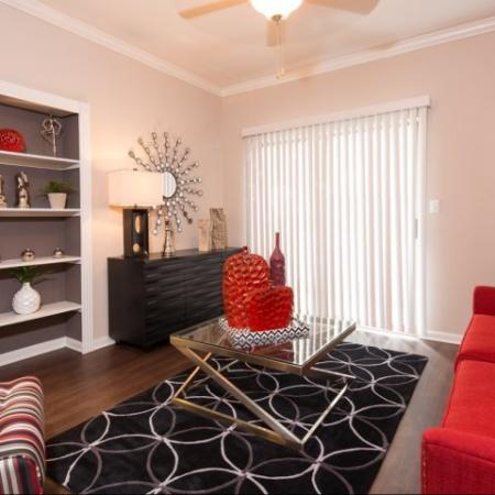 Elegant Living Room | Apartments for rent in Dallas, TX | Metropolitan at Cityplace