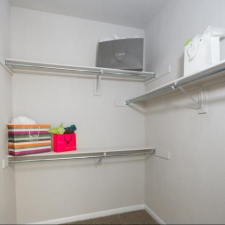 Spacious Closet | Apartments in Dallas, TX | Metropolitan at Cityplace