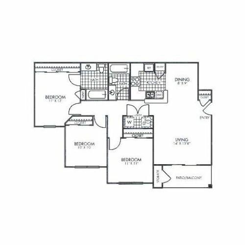 Flats at Five Mile Creek Apartments