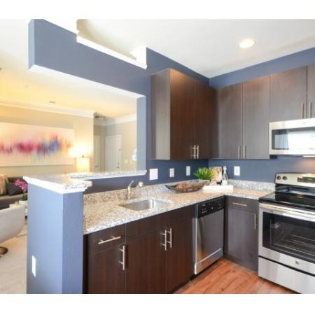 Modern Kitchen | Fairfax VA Apartment For Rent | Lincoln at Fair Oaks Apartments