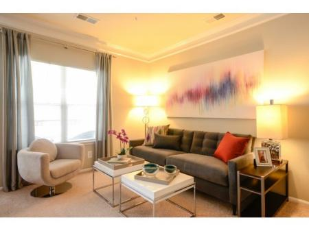 Elegant Living Room | Apartments for rent in Fairfax, VA | Lincoln at Fair Oaks Apartments