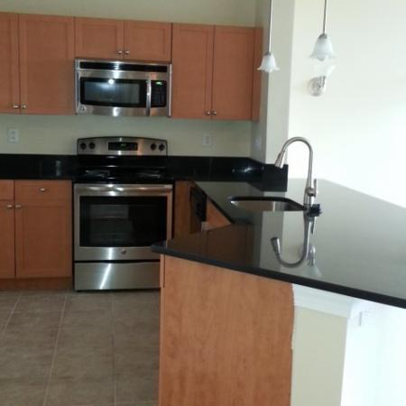 Modern Kitchen | Meriden CT Apartment For Rent | Alvista Willowbrook
