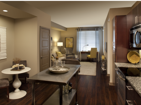 Spacious Living Room | Apartments in Nashville, TN | 12 South Flats