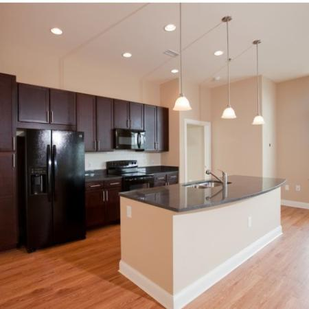 The Rocca Buckhead Apartments Kitchen