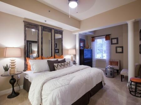 The Rocca Buckhead Apartments Bedroom