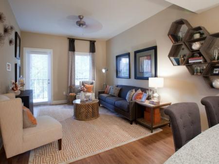 Rocca Buckhead Apartments Living Room