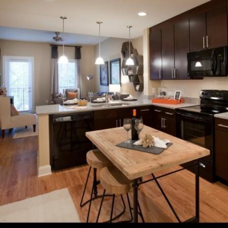 The Rocca Buckhead Apartments Kitchen