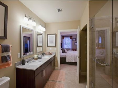 The Rocca Buckhead Apartments Bathroom
