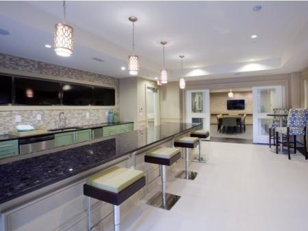 The Rocca Buckhead Apartments Clubhouse Bar