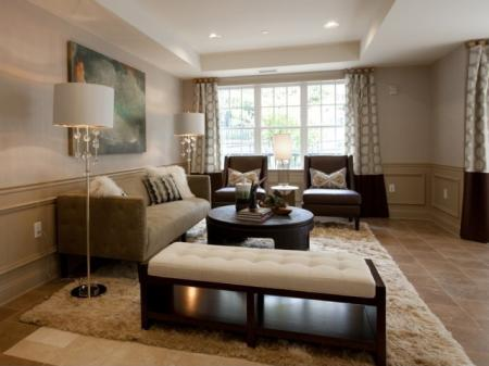 The Rocca Buckhead Apartments Living Room