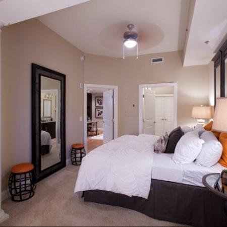 The Rocca Buckhead Apartments Master Bedroom